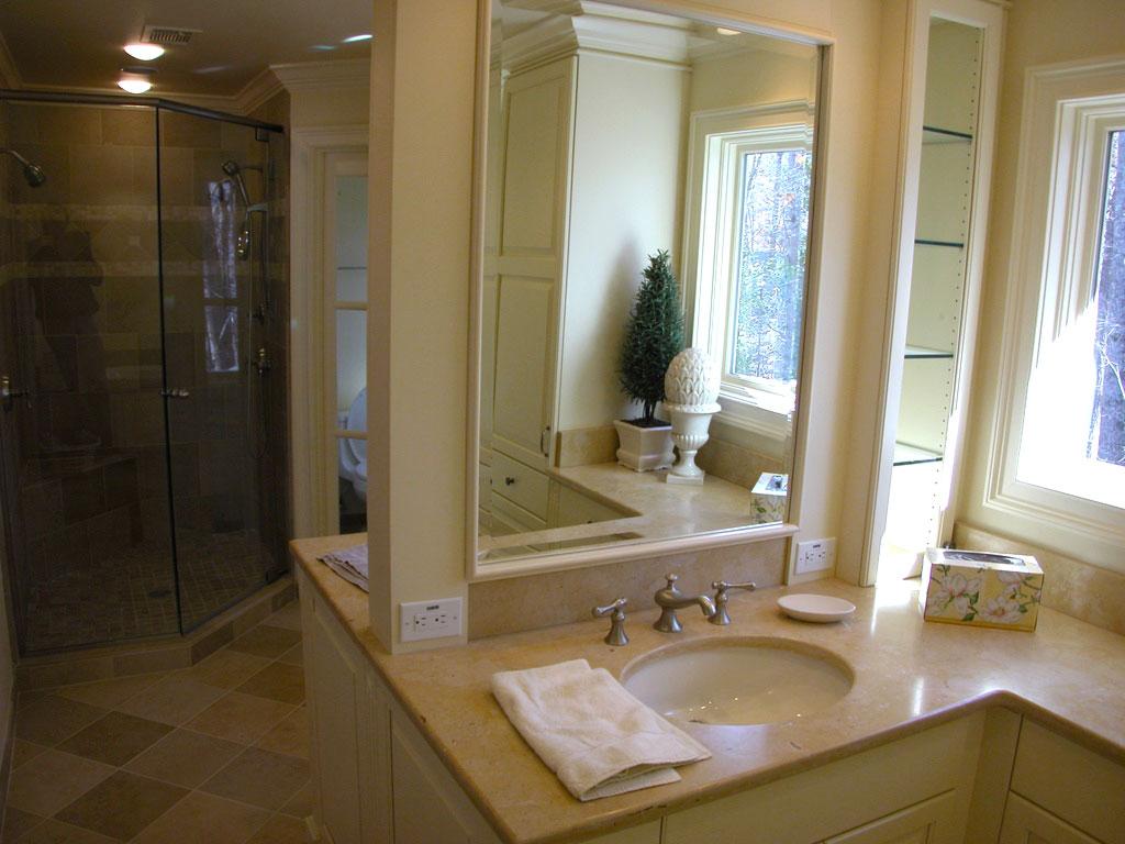 Master Bath Remodel Woodland Building Remodeling
